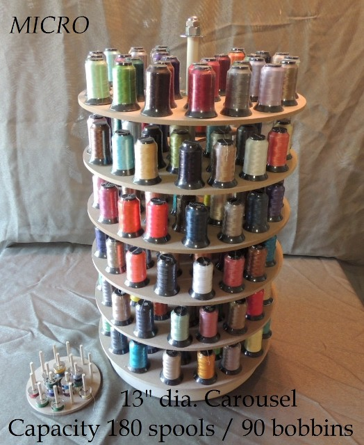 Embroidery Thread Storage Carousel